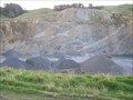 Image for Piopio Quarry.  Piopio. New Zealand.