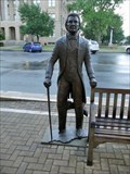 Image for Statue honors Williamson County's namesake - Georgetown, TX