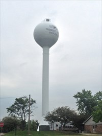 WSU Water Tower, Setting, Dayton, Ohio