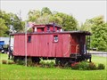 Image for Cupola Caboose in side yard in Kinsman, Ohio