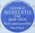 Image for George Meredith - Hobury Street, London, UK