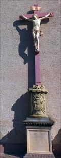 Image for Cross at Saint-Leon church Eguisheim - Alsace / France