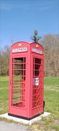 Image for Red British Phone Box ~ Bloomingdale, Tennessee - USA.
