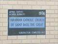 Image for 1974 - St. Basil's Catholic Church - Winnipeg, Manitoba