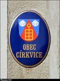 Image for Znak Cirkvic na obecním úrade / CoA of Cirkvice on Municipal Office - Církvice (Central Bohemia)