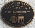 Image for Union Pacific Depot - Fullerton, CA