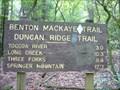 Image for Benton Mackaye Trail - Section 2: GA HWY 60 to Three Forks - Georgia