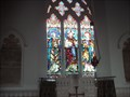 Image for Stained Glass Windows at St Mary's Church, Lower Higham, Kent. UK