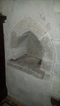Image for Piscina & Aumbry - St James - Jacobstow, Cornwall