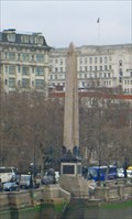 Image for Cleopatra's Needle, Thames River, London