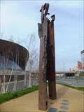Image for Since 9/11 - the WTC Artwork - Queen Elizabeth Olympic Park, London, UK