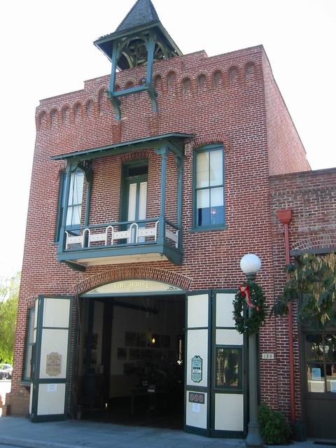 Old Plaza Firehouse California Historical Markers On