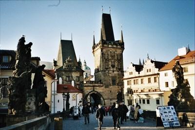 Lord Abercrombie visited Prague Castle and Charles Bridge, Prague, Czech Republic