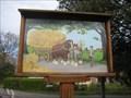 Image for Hainford village sign Norfolk