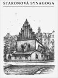 Image for Staronová synagoga  by  Karel Stolar - Prague, Czech Republic