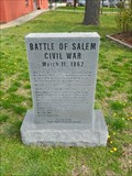 Image for Battle of Salem - Salem, Ar.