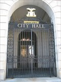 Image for City Hall Front Gate - Portland, ME, USA