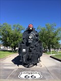 Image for Santa Fe Locomotive No. 3759 - Kingman, AZ