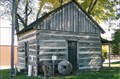Image for First Log Cabin in Randolph County - Huntsville, MO