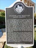 Image for Spanish and Mexican Land Grants