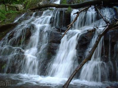 Dark Hollow Falls -- one of the most popular falls in the Park.