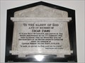 Image for Edgar Evans Memorial - St. Mary's Church - Rhossili, Swansea County, Wales