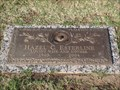 Image for 101 - Hazel C. Esterline - Chapel Hill Cemetery - OKC, OK