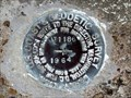 "Image for AW0619 - ""F 1186"" bench mark disk - Galveston, TX"