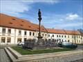 Image for Column with the statue of  St. John of Nepomuk / Sloup se sochou Sv. Jana Nepomuckého,  Rokycany, Czech republic