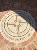 Image for Lakes District Clock Tower and Compass Rose - Alexandria, Louisiana