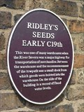 Image for Ridley Seeds, Bridgnorth, Shropshire, England