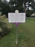 Image for Votes for Women - Havre de Grace, MD