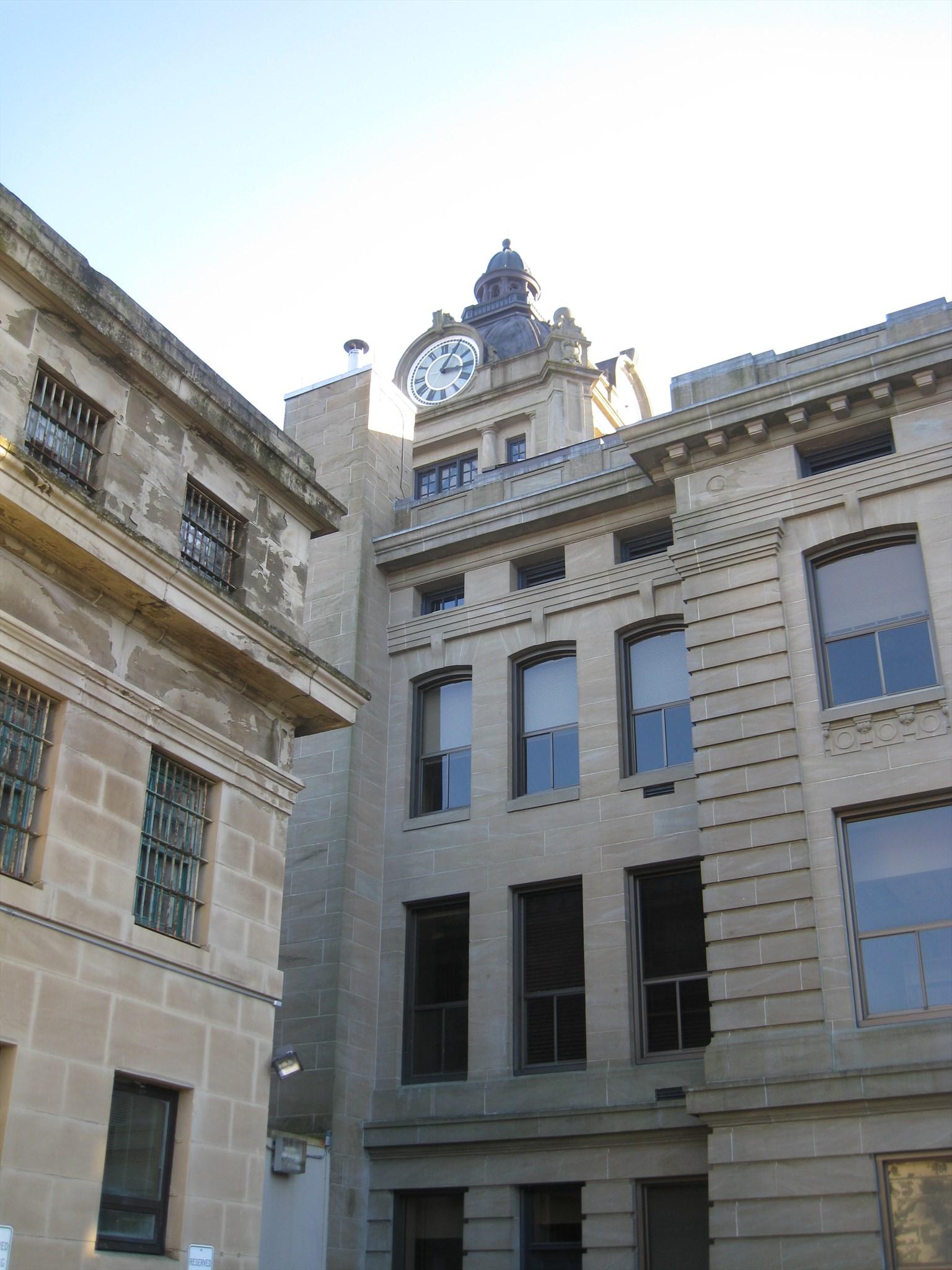 Grays Harbor County Courthouse Jail - Montesano, Washington