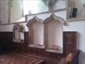 Image for Piscinas and Sedilia, St Matthew - Harwell, Oxfordshire