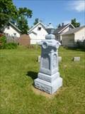 Image for ZINC - Paschen Family Monument - Tonawanda, NY