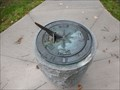 Image for Sundial at Guernsey Library Memorial Park - Norwich, NY
