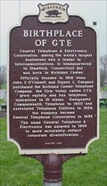 Image for Birthplace of GTE