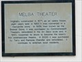Image for Melba Theater Marker - Batesville, Ar.