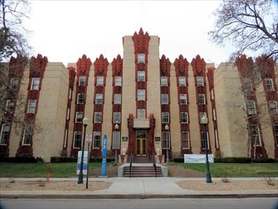 Catherine Mullen Nurses Home , Denver, CO , Art Deco , Art