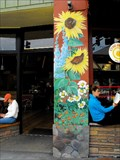 Image for Flower murals - Los Gatos, California