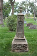 Image for S.R. Sutcliffe and Emily Waddington - Cedar Cemetery - Montrose, CO