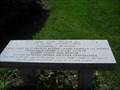 Image for Dedicated Bench in Court Square - Springfield, MA