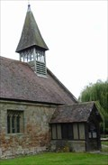 Image for Bell Tower, St Michael & All Angels, Martin Hussingtree, Worcestershire, England
