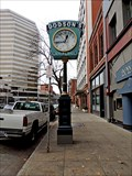 Image for Landmarks: Jewelers, banks often used street clocks