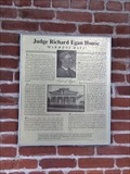 Image for Judge Richard Egan House - San Juan Capistrano, CA