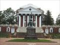 Image for Thomas Jefferson - North side of Rotunda - Charlottesville, VA