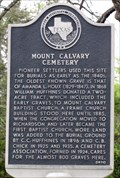 Image for Mount Calvary Cemetery