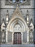 Image for Dvere sv. Ludmily / St. Ludmila's door, Praha, CZ