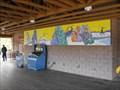 Image for Macaque Monkey Mural - Milwaukee County Zoo - Milwaukee, WI