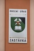 Image for Znak obce - Zastávka, Czech Republic